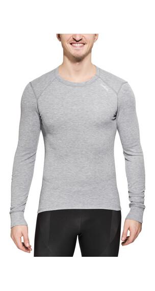 Odlo Warm Shirt L/S Crew Neck Men grey melange